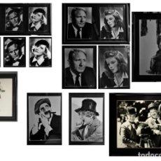 Cine: COLECCIÓN DE 10 RETRATOS DE ACTORES DE HOLLYWOOD AÑOS 20,30,40,50.. Lote 214607012