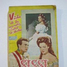 Cine: SISSI-VIDA DE LA EMPERATRIZ ISABEL DE AUSTRIA-NICOLAS BARQUET-EDITORIAL ALAS-VER FOTOS-(V-21.787). Lote 214855050