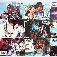 Cinema: TARÁNTULA, CON WILLIAM SHATNER. JUEGO COMPLETO DE 12 FOTOCROMOS.. Lote 215373990