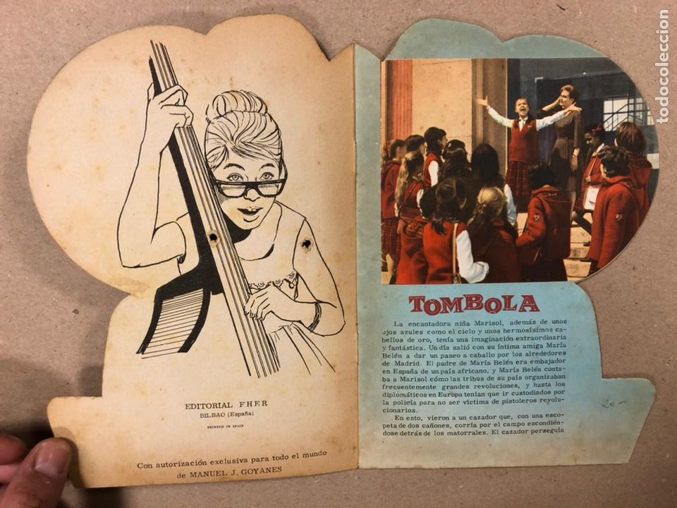 Cine: MARISOL EN TÓMBOLA. CUENTO TROQUELADO (EDITORIAL FHER 1962). - Foto 2 - 216495330