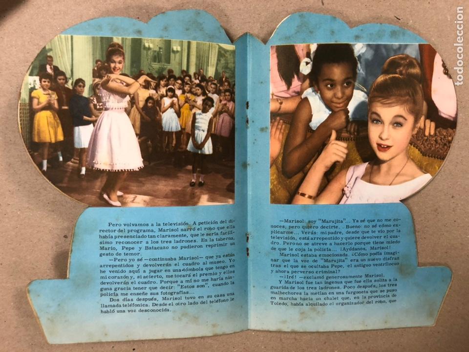 Cine: MARISOL EN TÓMBOLA. CUENTO TROQUELADO (EDITORIAL FHER 1962). - Foto 3 - 216495330