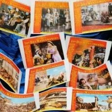 Cine: LOS 10 MANDAMIENTOS FOTOGRAMAS ORIGINALES. Lote 217187188