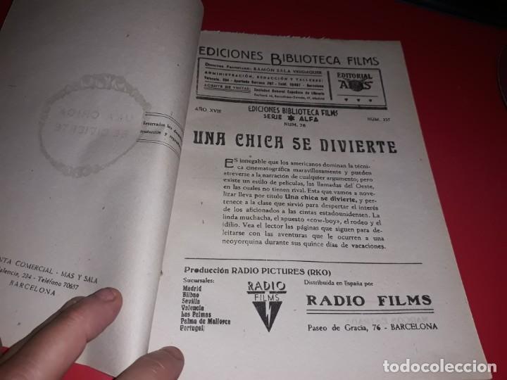 Cine: Una Chica se Divierte con John Wayne .Argumento Novelado con muchas Fotografias. 1943 - Foto 2 - 217729585