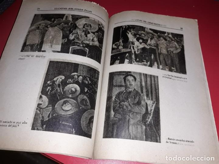 Cine: Viva mi Desgracia con Pedro Infante .Argumento Novelado con muchas Fotografias. 1943 - Foto 3 - 217730876