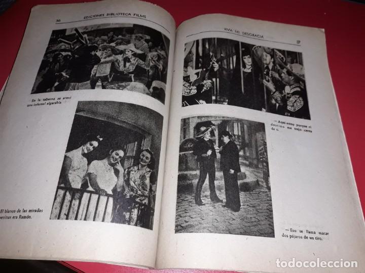 Cine: Viva mi Desgracia con Pedro Infante .Argumento Novelado con muchas Fotografias. 1943 - Foto 4 - 217730876