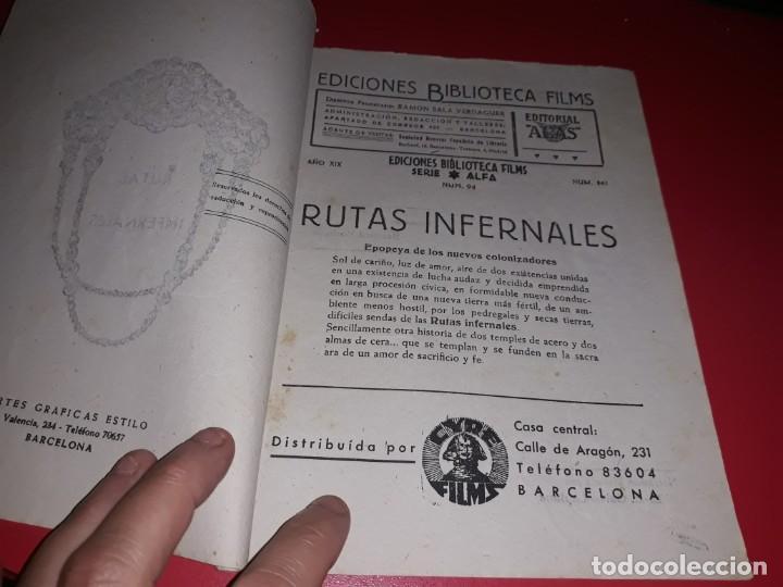 Cine: Rutas Infernales con John Wayne y Charles Coburn .Argumento Novelado con muchas Fotografias. 1940 - Foto 2 - 217731952