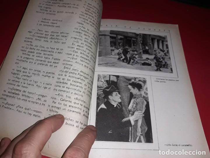 Cine: Forja de Hombres con Spencer Tracy y Mickey Rooney .Argumento Novelado con muchas Fotografias. 1938 - Foto 3 - 217732683