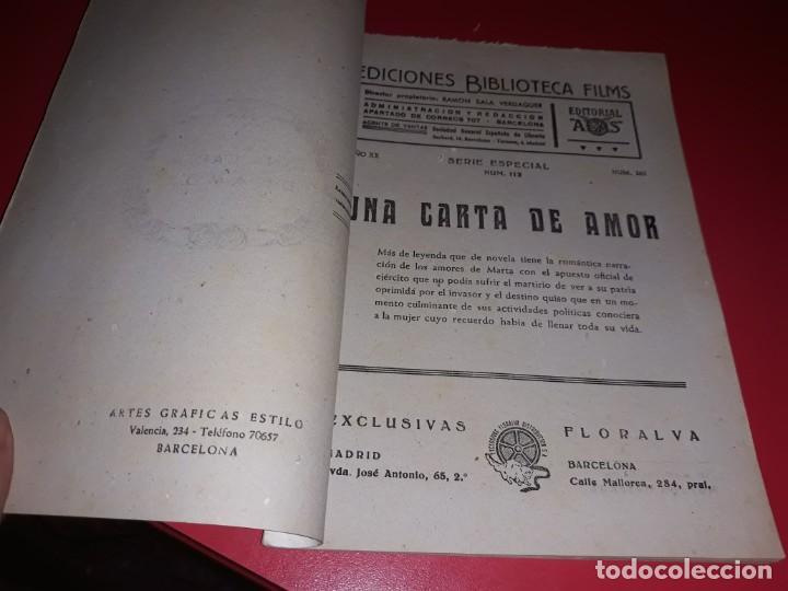 Cine: Una Carta de Amor con Jorge Negrete .Argumento Novelado con muchas Fotografias. 1943 - Foto 2 - 217733512