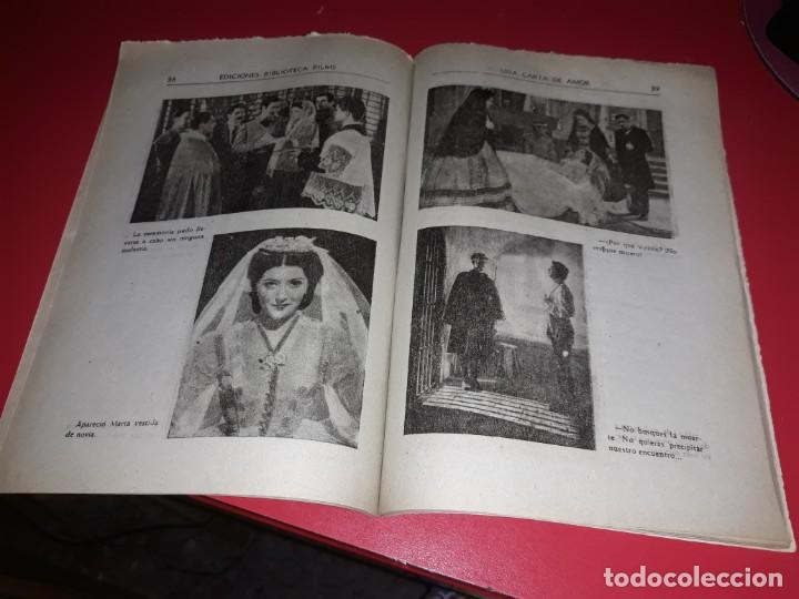Cine: Una Carta de Amor con Jorge Negrete .Argumento Novelado con muchas Fotografias. 1943 - Foto 3 - 217733512