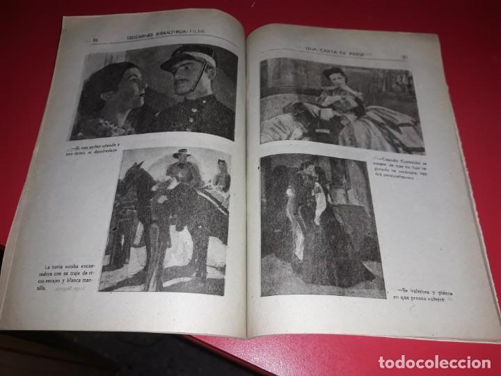 Cine: Una Carta de Amor con Jorge Negrete .Argumento Novelado con muchas Fotografias. 1943 - Foto 4 - 217733512
