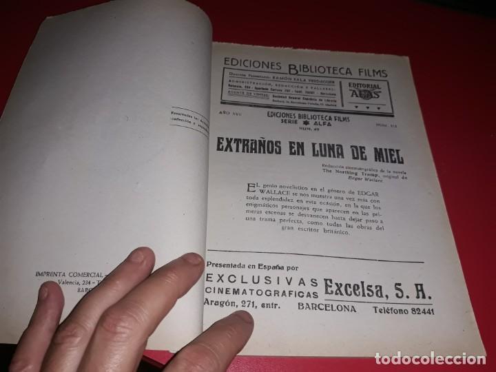 Cine: Extraños en Luna de Miel .Argumento Novelado con muchas Fotografias. 1936 - Foto 2 - 217734498