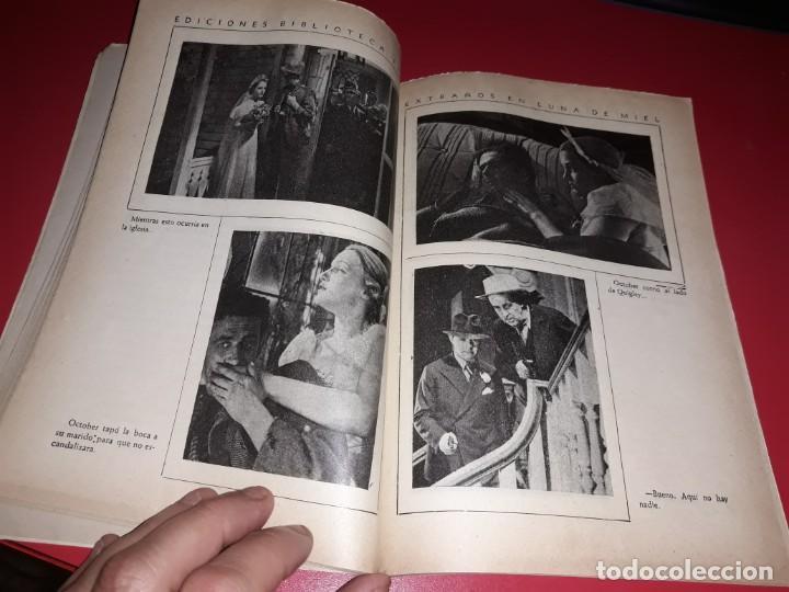 Cine: Extraños en Luna de Miel .Argumento Novelado con muchas Fotografias. 1936 - Foto 3 - 217734498
