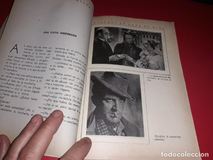 Cine: Extraños en Luna de Miel .Argumento Novelado con muchas Fotografias. 1936 - Foto 4 - 217734498