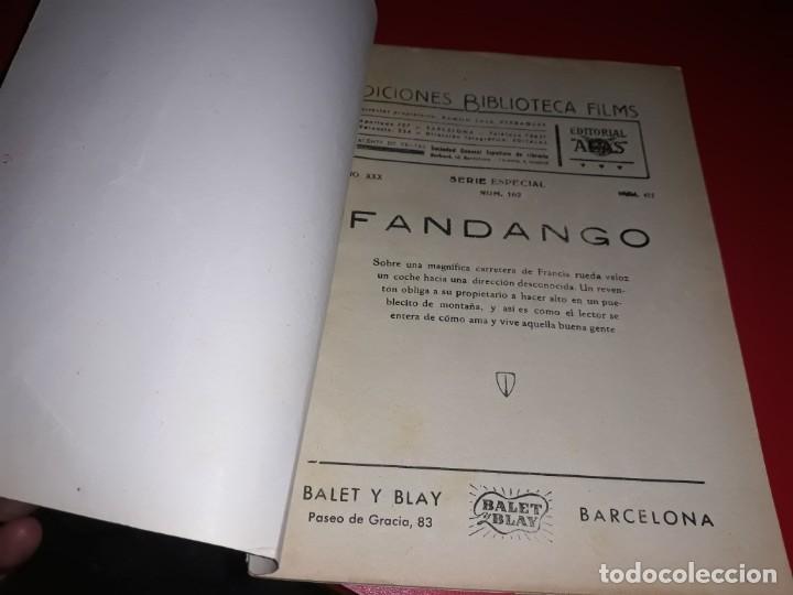 Cine: Fandango con Luis Mariano Argumento Novelado con muchas Fotografias. 1936 - Foto 2 - 217735205