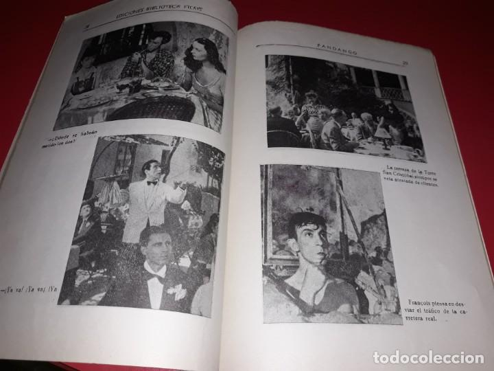 Cine: Fandango con Luis Mariano Argumento Novelado con muchas Fotografias. 1936 - Foto 3 - 217735205