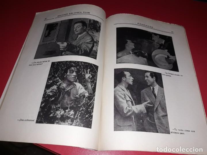 Cine: Fandango con Luis Mariano Argumento Novelado con muchas Fotografias. 1936 - Foto 4 - 217735205