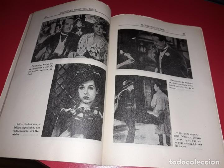 Cine: El Silencio es Oro con Maurice Chevalier .Argumento Novelado con muchas Fotografias. 1947 - Foto 3 - 217736103