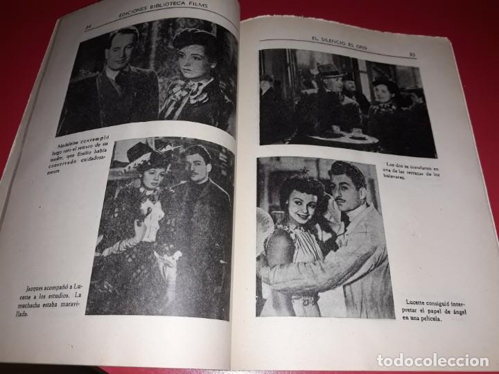 Cine: El Silencio es Oro con Maurice Chevalier .Argumento Novelado con muchas Fotografias. 1947 - Foto 4 - 217736103