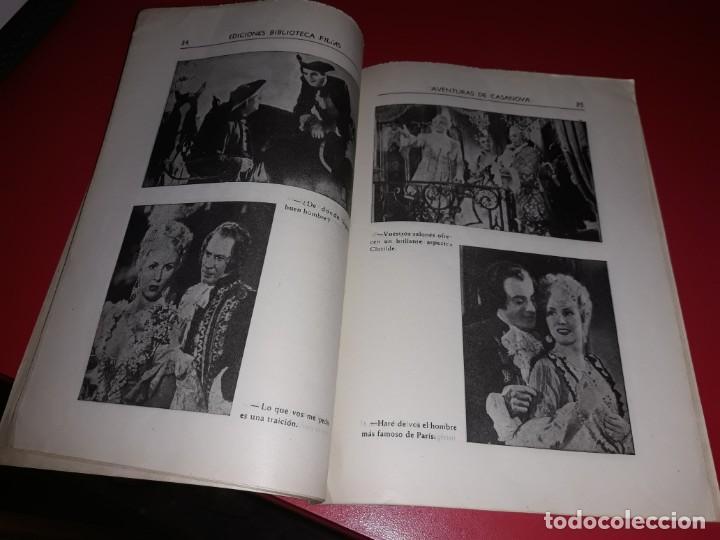 Cine: Las Aventuras de Casanova.Argumento Novelado con muchas Fotografias. 1947 - Foto 3 - 217737093