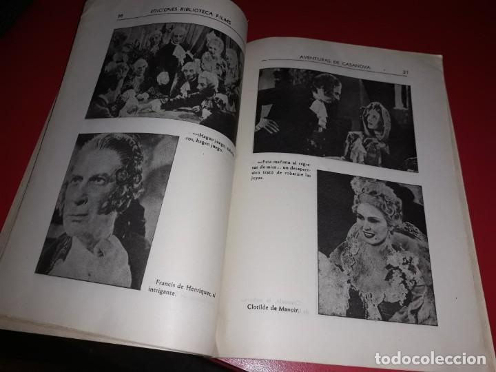 Cine: Las Aventuras de Casanova.Argumento Novelado con muchas Fotografias. 1947 - Foto 4 - 217737093