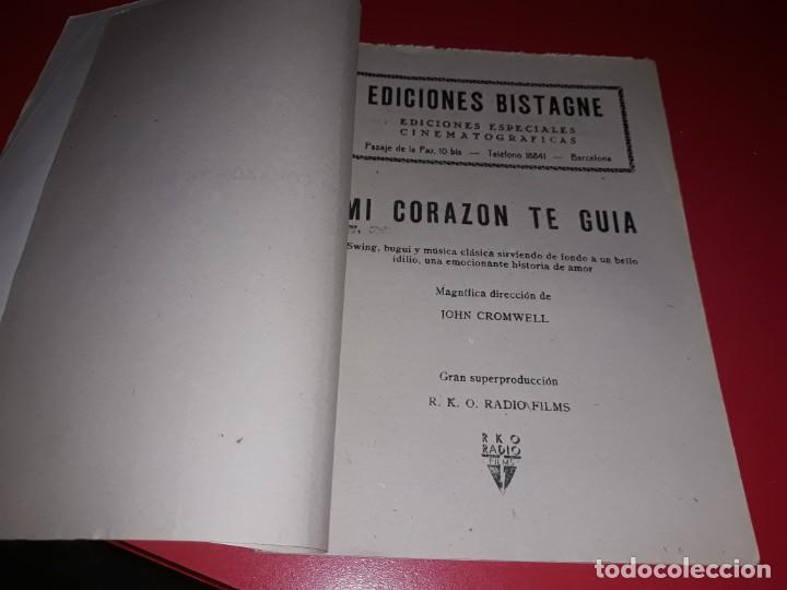 Cine: Mi Corazon te Guia. Argumento Novelado con muchas Fotografias. 1947 - Foto 2 - 217738842