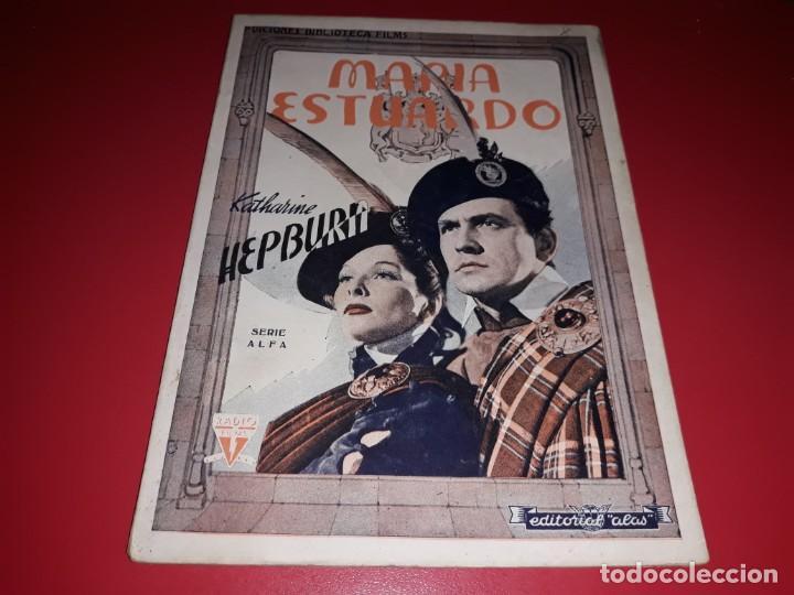 MARIA ESTUARDO CON KATHARINE HEPBURN . ARGUMENTO NOVELADO CON MUCHAS FOTOGRAFIAS. 1936 (Cine - Foto-Films y Cine-Novelas)