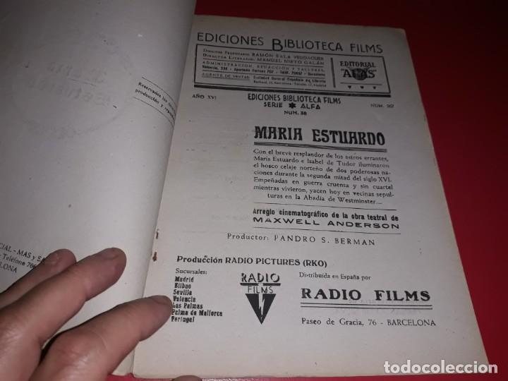 Cine: Maria Estuardo con Katharine Hepburn . Argumento Novelado con muchas Fotografias. 1936 - Foto 2 - 217739637