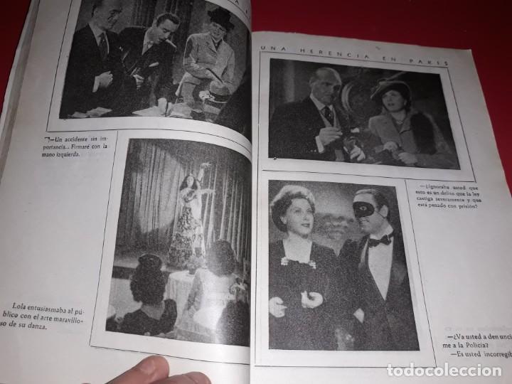 Cine: Una Herencia en París . Argumento Novelado con muchas Fotografias. 1944 - Foto 3 - 217739763