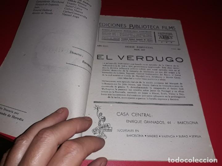 Cine: El Verdugo . Argumento Novelado con muchas Fotografias. 1948 - Foto 2 - 217741012