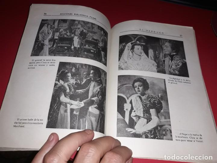 Cine: El Verdugo . Argumento Novelado con muchas Fotografias. 1948 - Foto 3 - 217741012