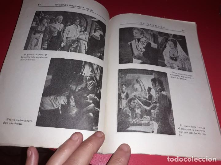 Cine: El Verdugo . Argumento Novelado con muchas Fotografias. 1948 - Foto 4 - 217741012