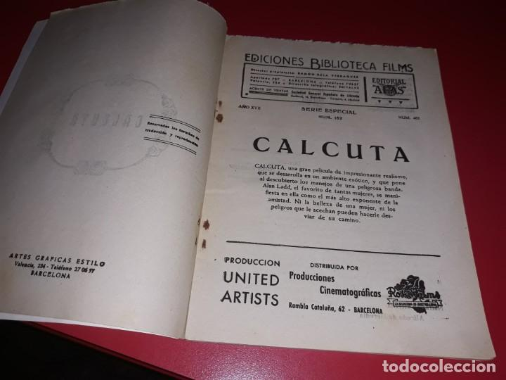 Cine: Calcuta con Alan Ladd . Argumento Novelado con muchas Fotografias. 1946 - Foto 2 - 217741683