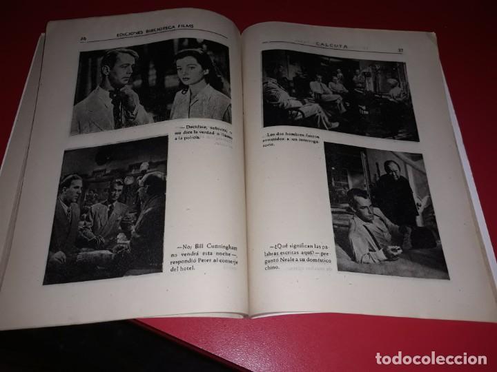 Cine: Calcuta con Alan Ladd . Argumento Novelado con muchas Fotografias. 1946 - Foto 3 - 217741683