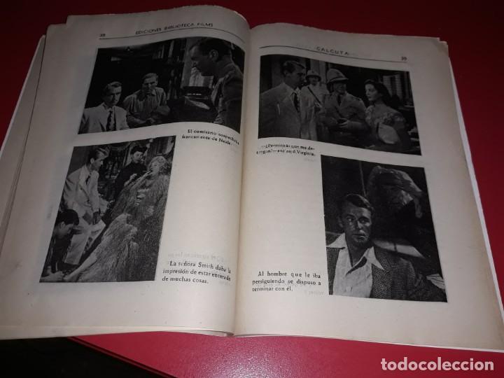 Cine: Calcuta con Alan Ladd . Argumento Novelado con muchas Fotografias. 1946 - Foto 4 - 217741683
