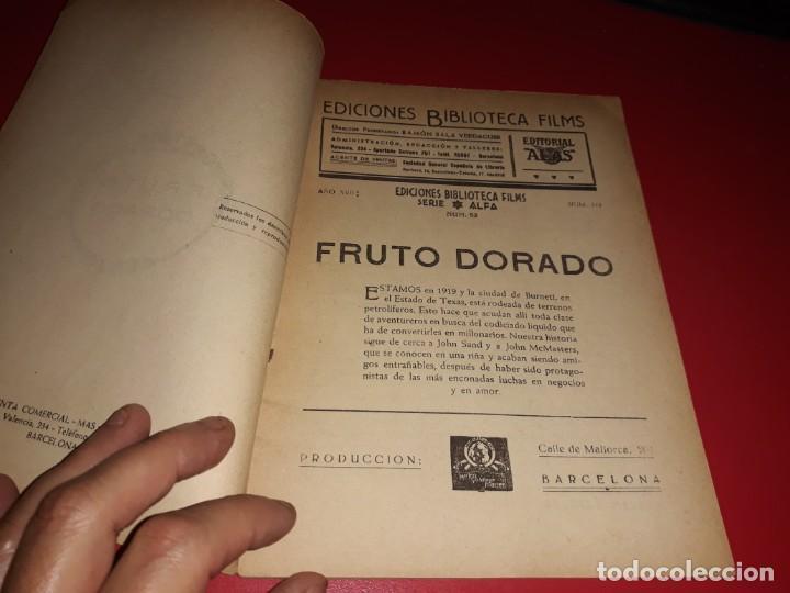 Cine: Fruto Dorado con Clark Gable . Argumento Novelado con muchas Fotografias. 1940 - Foto 2 - 217742313