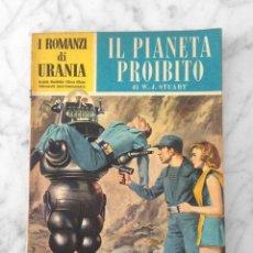 Cine: IL PIANETA PROIBITO (PLANETA PROHIBIDO / FORBIDDEN PLANET) - I ROMANZI DI URANIA - 1957 - 1ª EDICION. Lote 217775258
