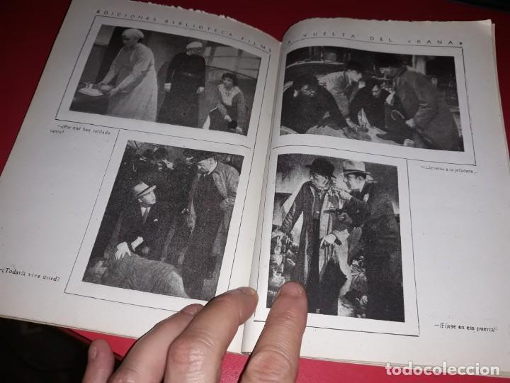 Cine: La Vuelta del Rana Argumento Novelado Pelicula con muchas Fotografias 1938 - Foto 4 - 217815983