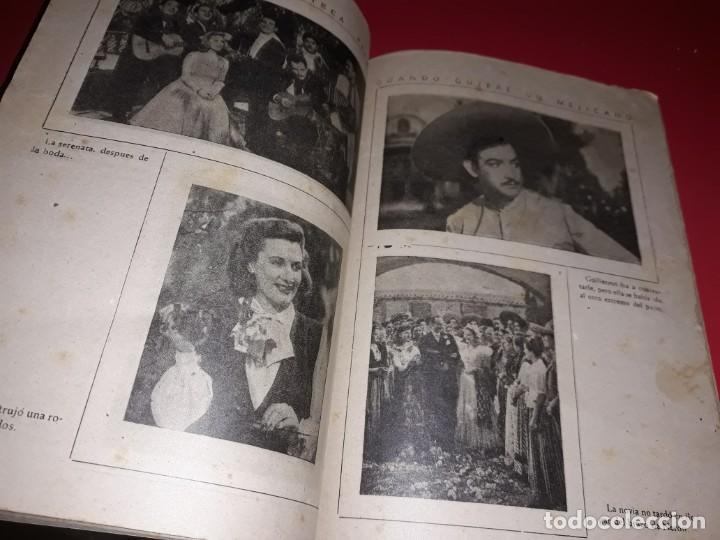 Cine: Cuando Quiere un Mejicano con Jorge Negrete. Argumento Novelado Pelicula con muchas Fotografias 1944 - Foto 4 - 217816338