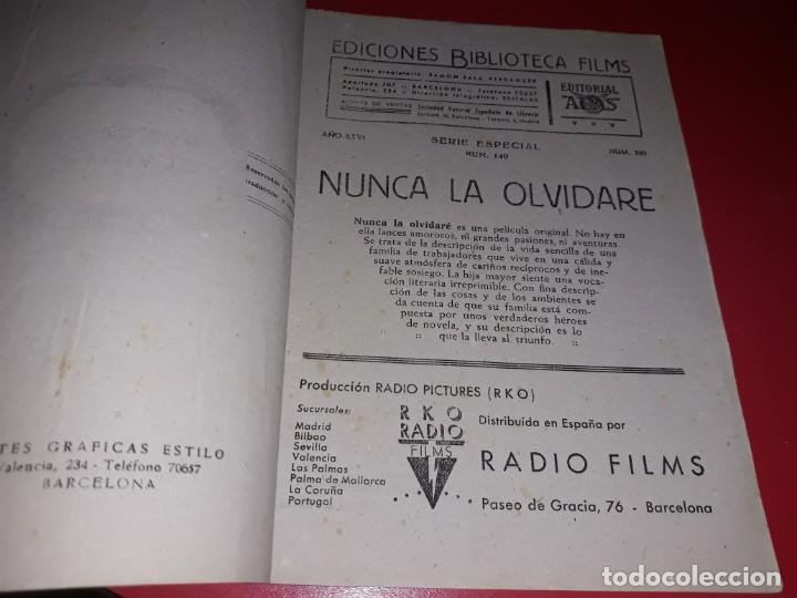 Cine: Nunca la Olvidare con Irene Dunne. Argumento Novelado Pelicula con muchas Fotografias 1948 - Foto 2 - 217816657