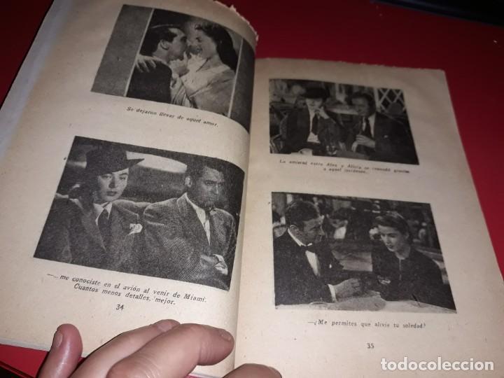 Cine: Encadenados con Gary Grant y Ingrid Bergman. Argumento Novelado Pelicula con muchas Fotografias 1946 - Foto 3 - 217817573