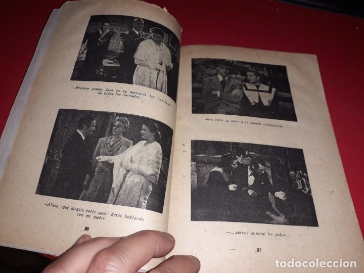 Cine: Encadenados con Gary Grant y Ingrid Bergman. Argumento Novelado Pelicula con muchas Fotografias 1946 - Foto 4 - 217817573