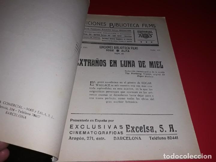Cine: Extraños en Luna de Miel. Argumento NoveladoPelicula con muchas Fotografias 1936 - Foto 2 - 217819267