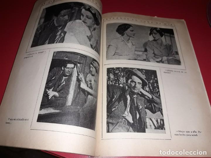 Cine: Extraños en Luna de Miel. Argumento NoveladoPelicula con muchas Fotografias 1936 - Foto 3 - 217819267