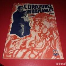 Cine: CORAZONES INDOMABLES CON HENRY FONDA. ARGUMENTO NOVELADO PELICULA CON MUCHAS FOTOGRAFIAS 1939. Lote 217819743