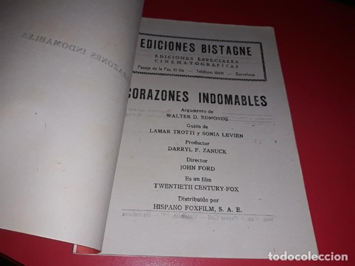 Cine: Corazones Indomables con Henry Fonda. Argumento Novelado Pelicula con muchas Fotografias 1939 - Foto 2 - 217819743