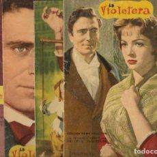 Cine: CINE ENSUEÑO LA VIOLETERA, SARA MONTIEL, 8 FASCÍCULOS FOTOGRAMAS DE LA PELÍCULA , COMPLETO .. Lote 217968512