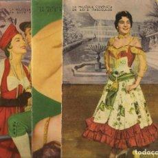 Cine: CINE ENSUEÑO, AQUELLOS TIEMPOS DEL CUPLE, SARA MONTIEL, 6 FASCÍCULOS FOTOGRAMAS. Lote 217968598
