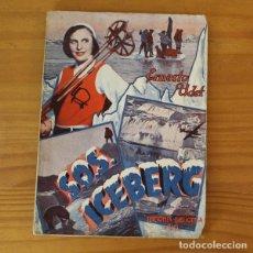 Cine: S.O.S. ICEBERG, ERNESTO UDET. EDICIONES BIBLIOTECA FILMS 122, EDITORIAL ALAS.. Lote 218260903