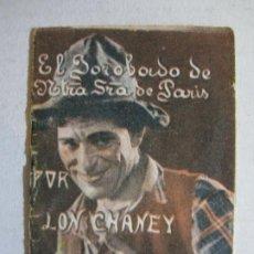 Cine: LON CHANEY-EL JOROBADO DE NTRA SRA DE PARIS-PUBLICIDAD PASTILLAS KLAM-FARMACIA-VER FOTOS-(K-450). Lote 218426497