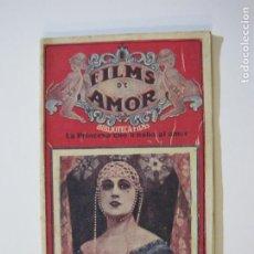 Cine: FILMS DE AMOR-LA PRINCESA QUE AMABA EL AMOR-Nº 10-BIBLIOTECA FILMS-VER FOTOS-(K-506). Lote 218639877